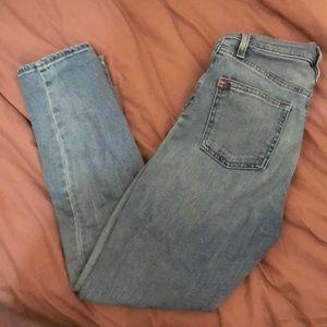 BDG Girlfriend Jeans in nice vintage blue wash
